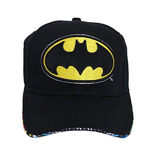 DC Comics Batman Baseball Cap Hat Boy One Size