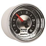 Auto Meter 1259 American Muscle 2-1/16'' 30 in Hg.-30 PSI Boost/Vacuum Gauge