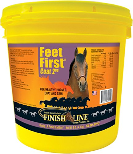 DPD FEET FIRST HOOF N COAT HORSE SUPPLEMENT - 9 POUND by DPD
