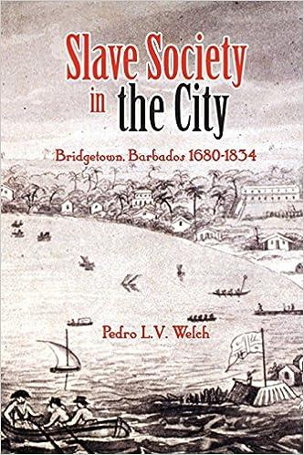 Download online Slave Society in the City: Bridgetown Barbados, 1680-1834 PDF