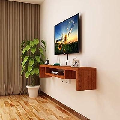 Amazon Com Wall Mounted Tv Cabinet Floating Shelf Bedroom Living