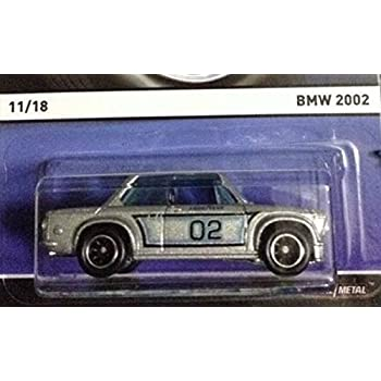 Hot Wheels Real Riders 2015 Heritage Series 11 of 18 BMW 2002 Silver