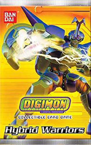 Bandai Digimon Collectible Card Game Hybrid Warriors Booster Pack