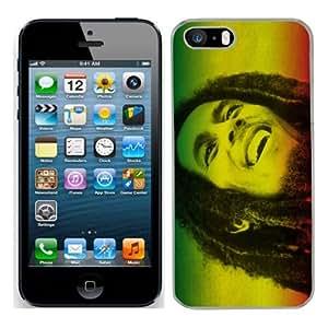 Bob Marley cas adapte iphone 5S couverture coque rigide de protection (9) case pour la apple i phone 5 S cover Skin