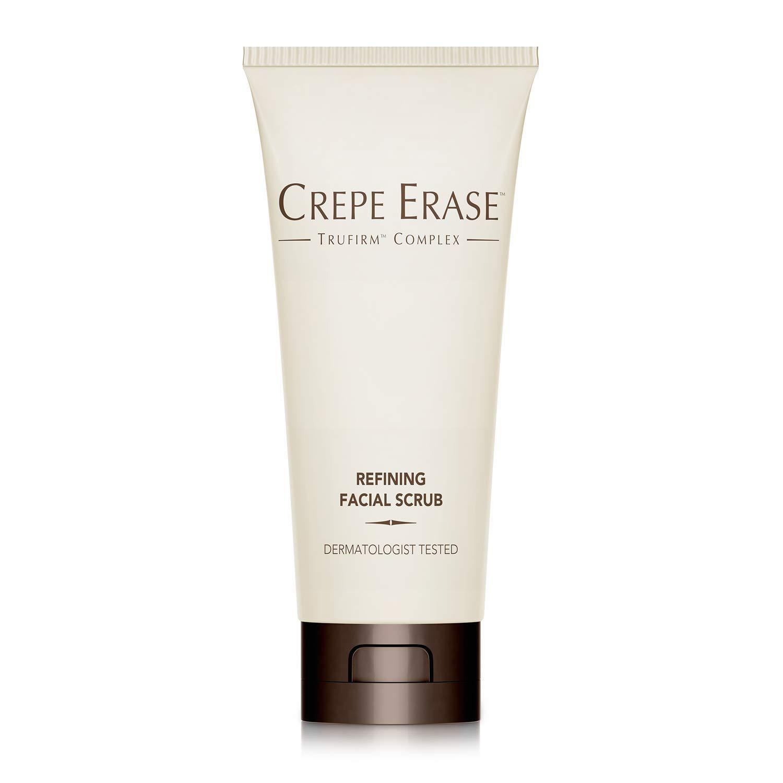 Crepe Erase - Refining Facial Scrub - TruFirm Complex - 6 Fluid Ounces by Crepe Erase
