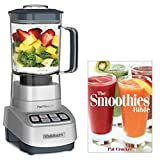 Cuisinart CB-1300PC Powerful Heavy Duty Blender VELOCITY Ultra 1 HP Motor with Programmed Ice Crush and Smoothie controls with Smoothie Recipe Book For Sale