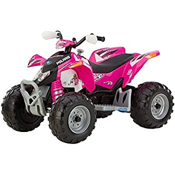 Amazon.com: Peg Perego Polaris Outlaw Ride-on Vehicle - Pink: Toys ...