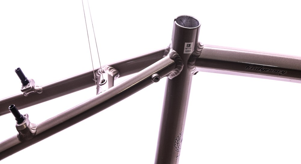 15'' Marin Bridgeway 700c Aluminum Comfort / Hybrid Bike Frame Brown Sand NEW by Marin (Image #3)