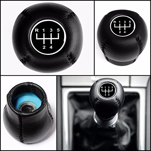 opel-vauxhall-5-speed-gear-shift-knob-black-leather-vectra-b-c-astra-corsa-tigra