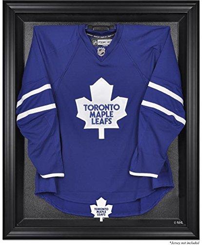 (Toronto Maple Leafs Black Framed Logo Jersey Display Case)