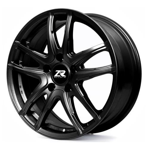 Matte Black V50617045 ZR Alloy V506 17X7 5-108