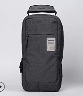 dpark new group series Water-Resistant Canvas& PU Sling Chest Shoulder Bag Pack Small Crossbody