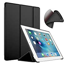 iPad Mini Case,iPad Mini 2 Case, iPad Mini 3 Case - FST Slim Lightweight Smart Soft Back Cover Trifold Stand with Auto Sleep/Wake Function for Apple iPad Mini 1/2/3