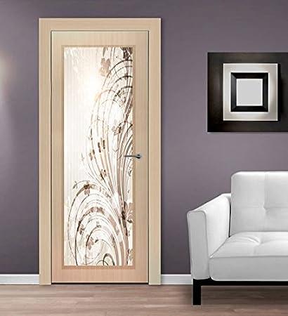 Vetri Decorati Per Porte Interne.Arte S R L Vetro Decorato Per Porte Interne Amazon It