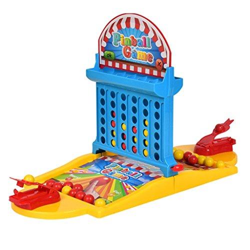 B Blesiya パーティー 室内おもちゃ 2プレーヤー ピンボール ボードゲーム プラスチック製