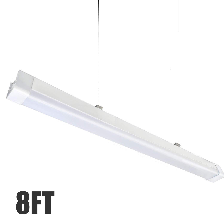 8ft led shop light fixtureip66 waterproof75w 8500lmfor garageworkshopwarehousecar wash warehouse barn auto shop lighting1 pcs 8ft led shop light