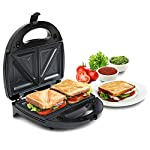 Russell Hobbs RST750M3 750 Watt Non-Stick 3 in 1 Sandwich Maker (Sandwich Toast/Waffle/Grill) Toaster with Detachable…