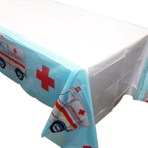 Blue Orchards Doctor Party Tablecovers (2), Perfect for Doctor and Nurse Events, Graduations, Table Settings -