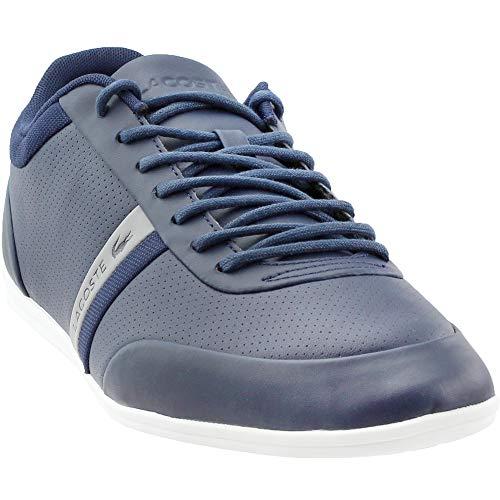 Lacoste Men's Storda 318 1 Sneaker, Navy/Grey 9.5 M US