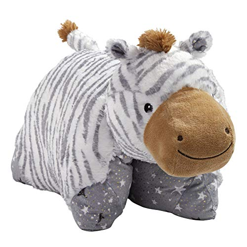 Pillow Pets Naturally Comfy Zebra Stuffed Animal Plush Toy