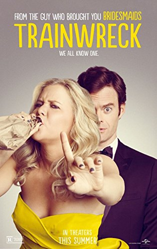 Trainwreck Original Promo Movie Poster 2015 Amy Schumer Bill Hader