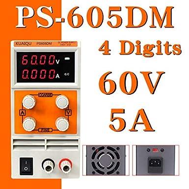 Brand: New, Color: PS3010DM 30V 10A Utini KUAIQU Mini DC Power Supply PS305DM 60V 5A Switching Laboratory Digital Variable Adjustable DC Power Supply 0-60V 0-5A PS305DM -