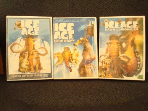Ice Age 1 2 3 Bundle Collection Combo - Ice Age Set