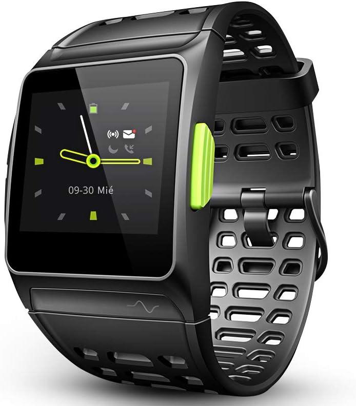 LUKAWIT Fitness Tracker GPS con Reloj para Correr con Monitor de Ritmo cardíaco, análisis HRV, podómetro, sueño, rastreador de Pasos con Modos multideportivos, Reloj Inteligente a Prueba de Agua 5ATM