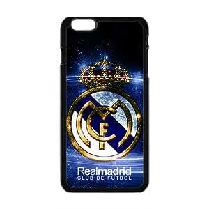 Realmadrid Club Of Futbol Fashion Comstom Plastic case cover For Iphone 6 Plus