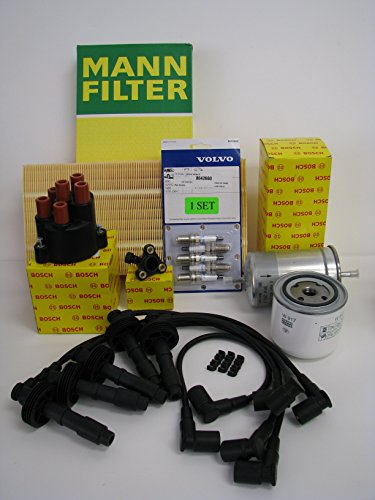 - Complete Tune-Up Kit for Volvo 850 Spark Plugs Wires Filters OEM (Non-Turbo)