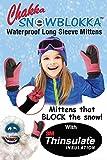Chakka Snowblokka TM Kid's Snow Mittens Waterproof Nylon...