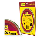 IVY Classic 38086 Swift Cut 8-Inch Wet Tile Cutting Continuous Rim Diamond Blade with 5/8-Inch Arbor, 1/Card