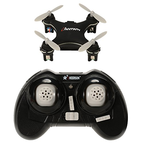 Ocamo Cheerson CX-10SE Mini Drone CX-10 Upgrade Quadcopter 2.4G 4CH 6 Axis LED RC Helicopter with Switchable Controller