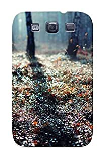 Crazylove Case Cover Sunlit Forest Weeds / Fashionable Case For Galaxy S3