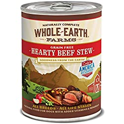 Whole Earth Farms Merrick Hearty Beef Stew, 12.7-Ounce, Pack of 12