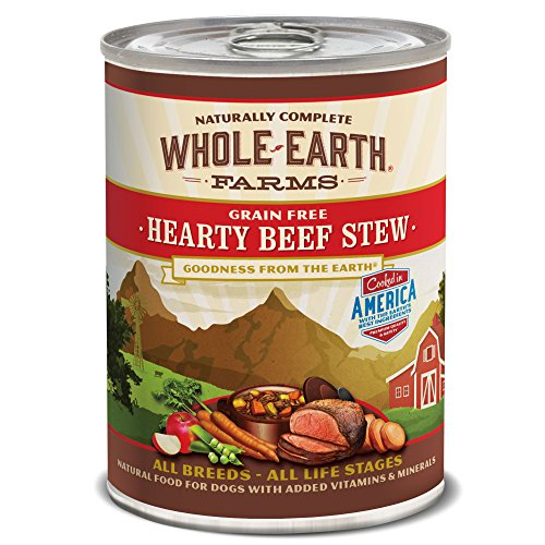 Merrick Whole Earth Farms Hearty Beef Stew, 12.7-Ounce, Pack of 12