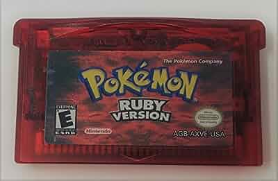 Amazon.com: Pokemon Ruby Version - New Battery Installed