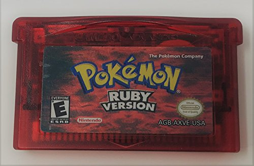 Pokemon Ruby Version - New Battery Installed (Certified Refurbished)