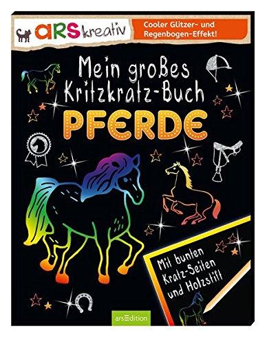Mein großes Kritzkratz-Buch Pferde
