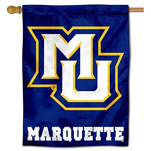 College Flags and Banners Co. Marquette MU Golden Eagles House Flag