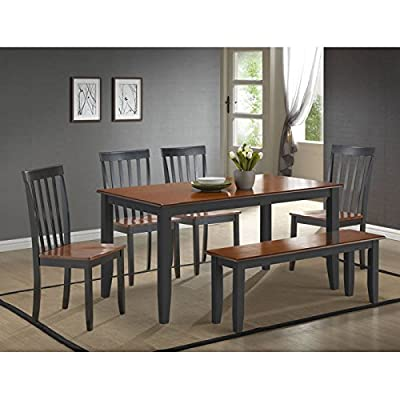Boraam 6-Piece Bloomington Dining Room Set