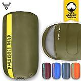 sleeping bag - Forbidden Road Sleeping Bag Single Sleeping Bag (5 Color) (Green, Single)