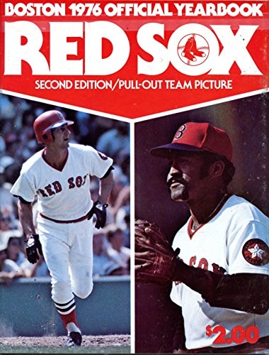 Pictures Yearbook - 1976 Boston Red Sox Yearbook- 2nd Edition/Pull-Out Team Picture
