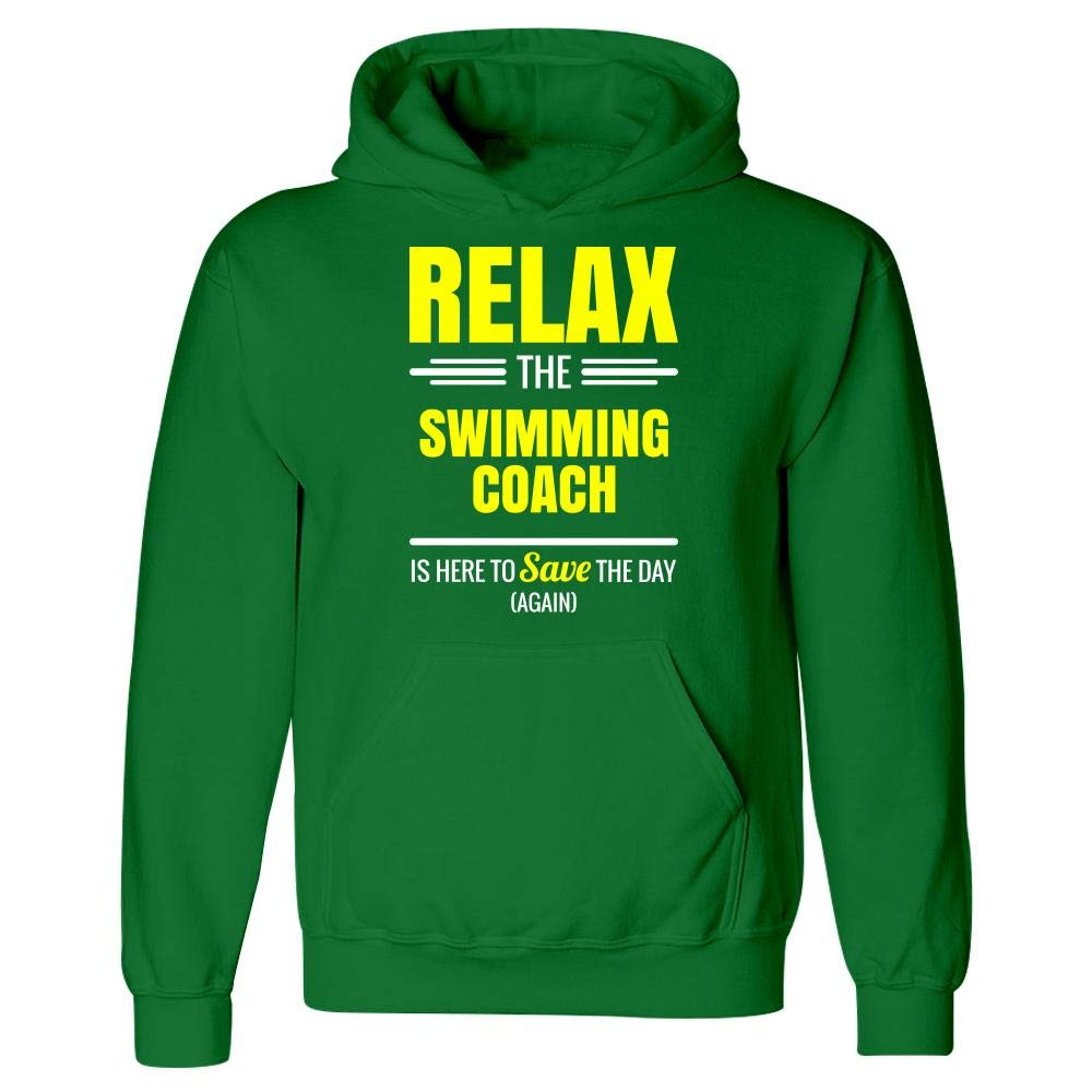 Relax The Swimming Coach Save The Day Hoodie