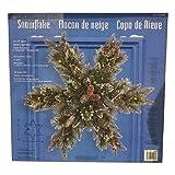 32″ LED Snowflake Shaped Wreath 998985