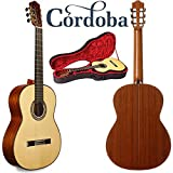Cordoba Luthier C9 Spruce Top Classical Guitar with Cordoba Polyfoam Case.