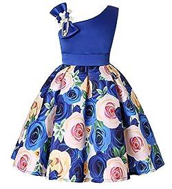 Tueenhuge Baby Toddler Girls Party Dress Sleeveless Bowknot Wedding Bridesmaid Formal Princess Dress