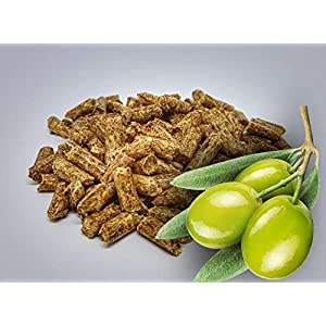 10 kg di pellet per barbecue, con olive, Ø 6 mm, qualità premium 51Vty7Ah2GL. SS300