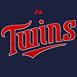 Minnesota Twins Majestic Navy Official Wordmark T-Shirt