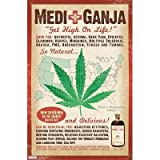 (22x34) Medical Marijuana Medi-Ganja Pot Poster